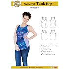 MW Patterns Stonecrop tank top dam