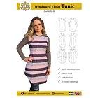MW Patterns Windward Violet tunic dam