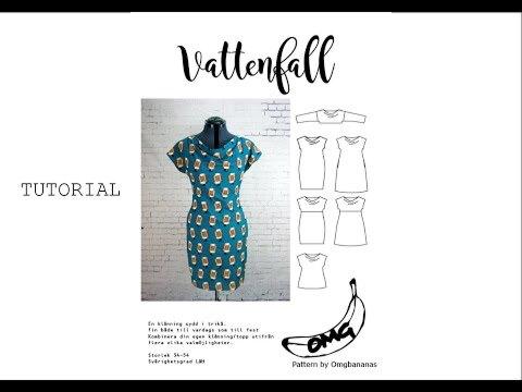 Omgbananas Vattenfall klänning