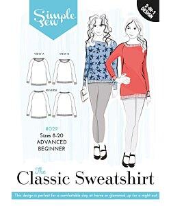 Simple Sew Classic Sweatshirt