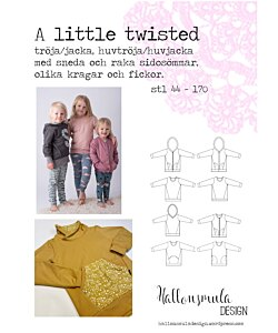 Hallonsmula design Little twisted utökad