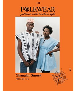 Folkwear 158 Ghanaian Smock Top dress