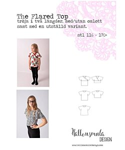 Hallonsmula design Flared top