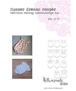 Hallonsmula design Summer Dreams romper