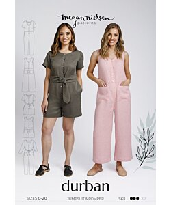 Megan Nielsen Durban jumpsuit