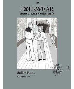 Folkwear 229 Sailor Pants