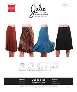 Jalie 2681 Knit gored skirt
