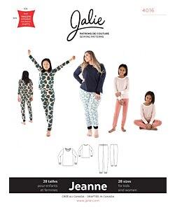 Jalie 4016 Jeanne PJ set
