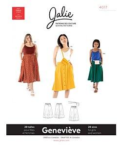 Jalie 4017 Genevieve skirt
