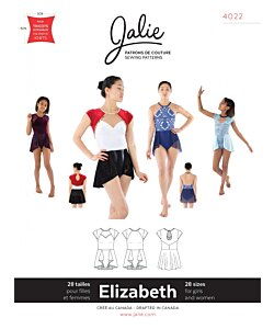 Jalie 4022 Elizabeth dress