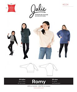 Jalie 4024 Romy Sweater Tunic