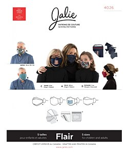Jalie 4026 Flair Face mask
