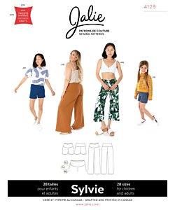 Jalie 4129 Sylvie knit pants/shorts