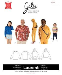 Jalie 4131 Laurent t-shirt, hoodie
