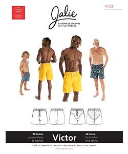 Jalie 4133 Victor swim shorts