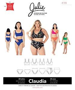 Jalie 4136 Claudia bikini