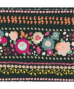 Art Gallery Fabric - Indie Boheme Boho Quest Night  Trikå tyg 1 dm