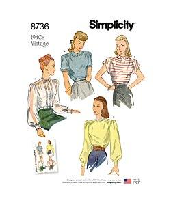 Simplicity 8736