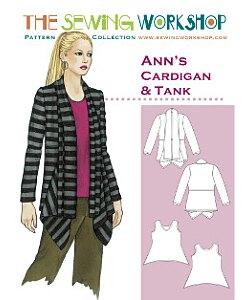 Sewing workshop Ann cardigan