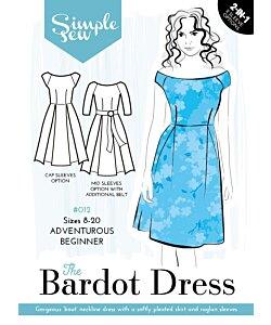 Simple Sew Bardot Dress