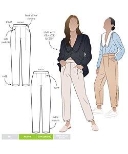 Style Arc Billie Woven Pant