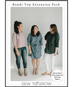 Sew to Grow Bondi top Extension Pack