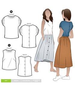 Style Arc Bonnie Woven Top