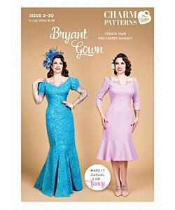 Charm Patterns Bryant Gown