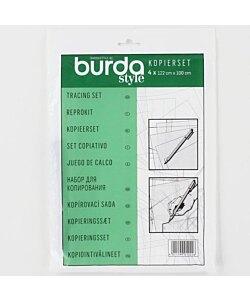 Mönsterplast kopieringsplast med penna