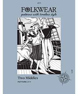 Folkwear 211 Two Middies Top