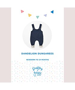 Sew Over It Dandelion Dungarees