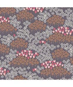 Art Gallery Fabric - Tiptoe dusk  Trikå tyg 1 dm