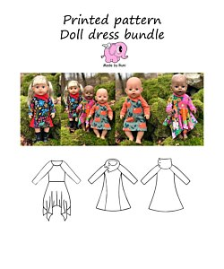 Made by Runi  Doll dress bundle