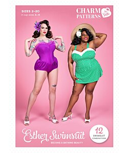 Charm Patterns Esther Swimsuit