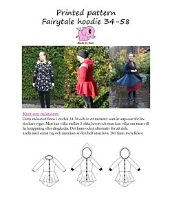 Made by Runi fairytale hoodie dam