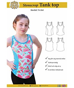 MW Patterns Stonecrop tank top barn
