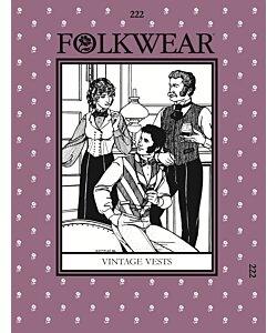 Folkwear 222 Vintage vests