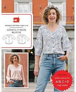 Liesl + Co. Geneva blouse