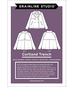 Grainline Studio Cortland Trench coat