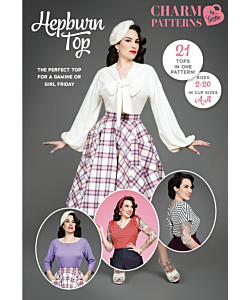 Charm Patterns Hepburn top