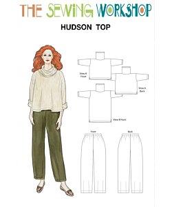 Sewing workshop Hudson top trouser