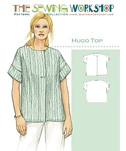 Sewing workshop Hugo top