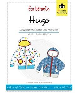 Farbenmix Hugo sweatjacka