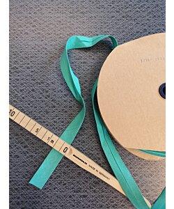 Snedslå bomull 20 mm retro grön 3 m