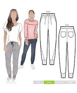 Style Arc Joni Knit Track Pant