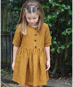 Below the Kowhai Kauri Dress