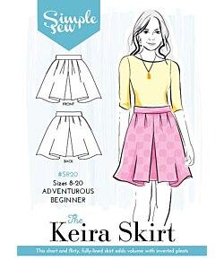 Simple Sew Keira kjol