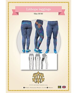 MW Patterns Lithops leggings dam