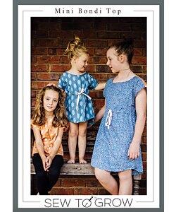 Sew to Grow Mini Bondi top dress