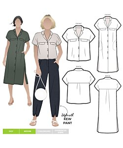 Style Arc Monty Shirt and Dress